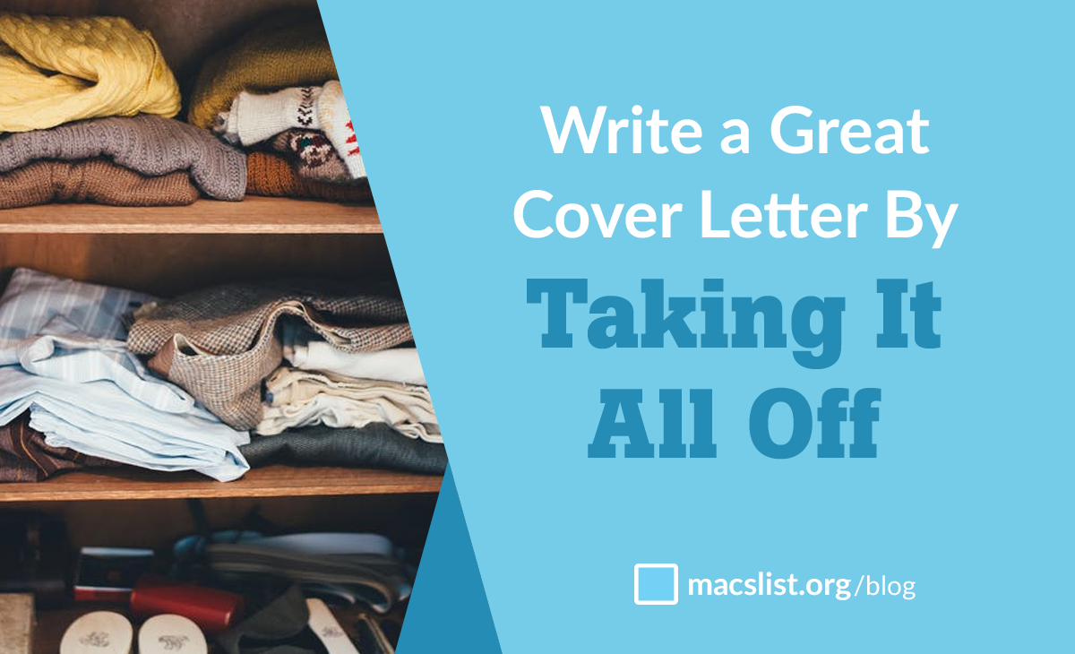 writing great cover letters
