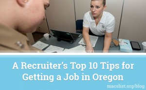 Recruiter's Top 10 Tips Networking
