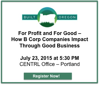 Built Oregon - For Profit and For Good Seminar