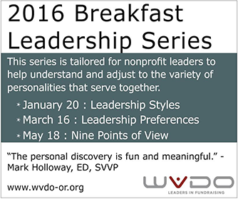 WVDO Professional Certificate in Nonprofit Fundraising