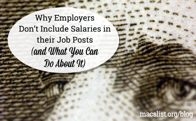 Why Employers Don't Include Salaries in their Job Posts (and What You Can Do About It)