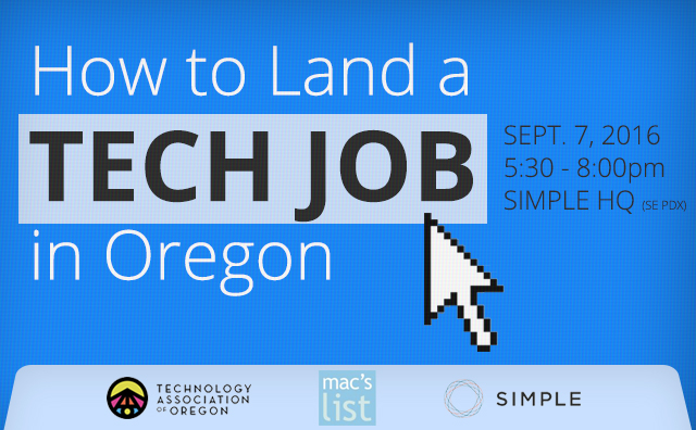 How To Land a Tech Job in Oregon