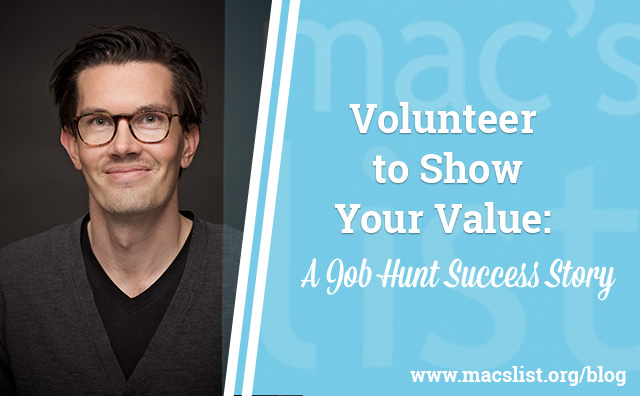 Volunteer to Show Your Value