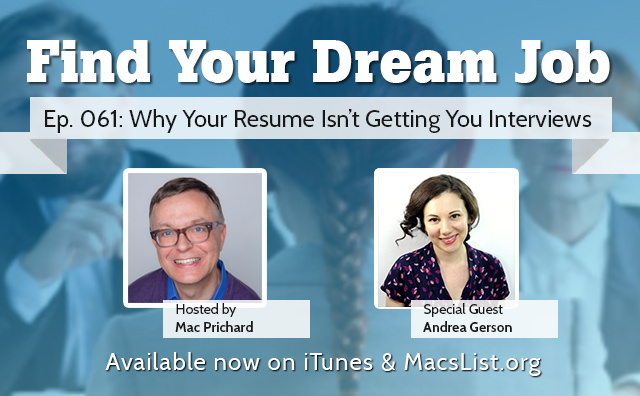 Why Your Resume Isn't Getting You Interviews