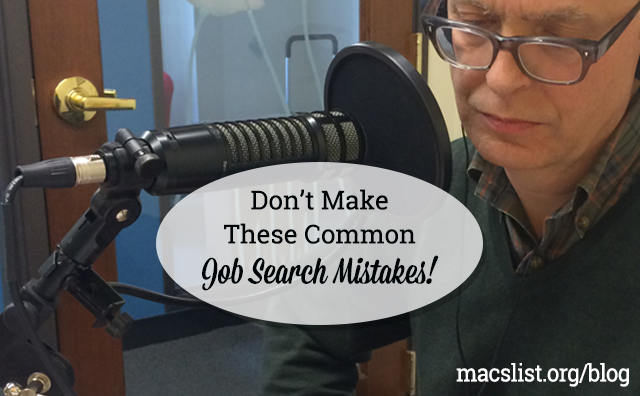 Don't Make These Common Job Search Mistakes