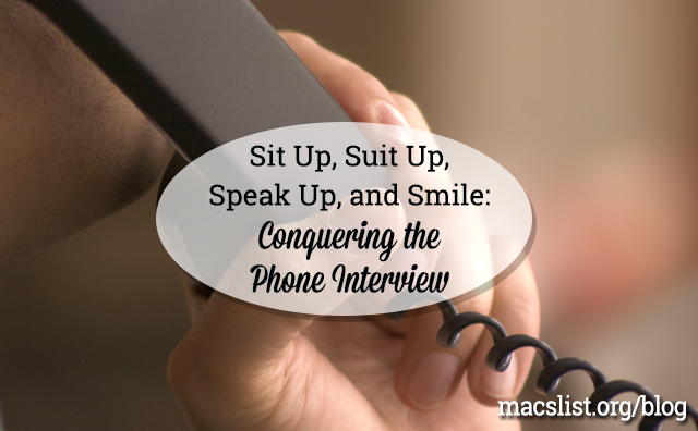 Conquering the Phone Interview