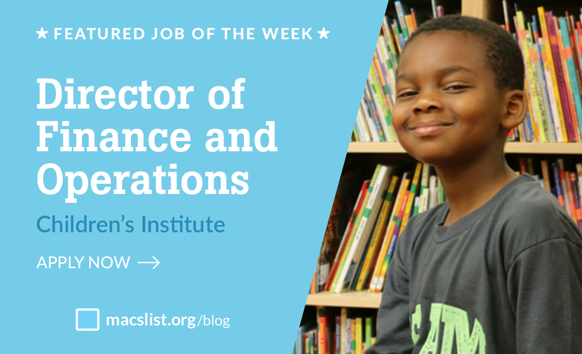 Build a Better Future for Oregon's Kids as the Director of Finance and Operations at Children's Institute