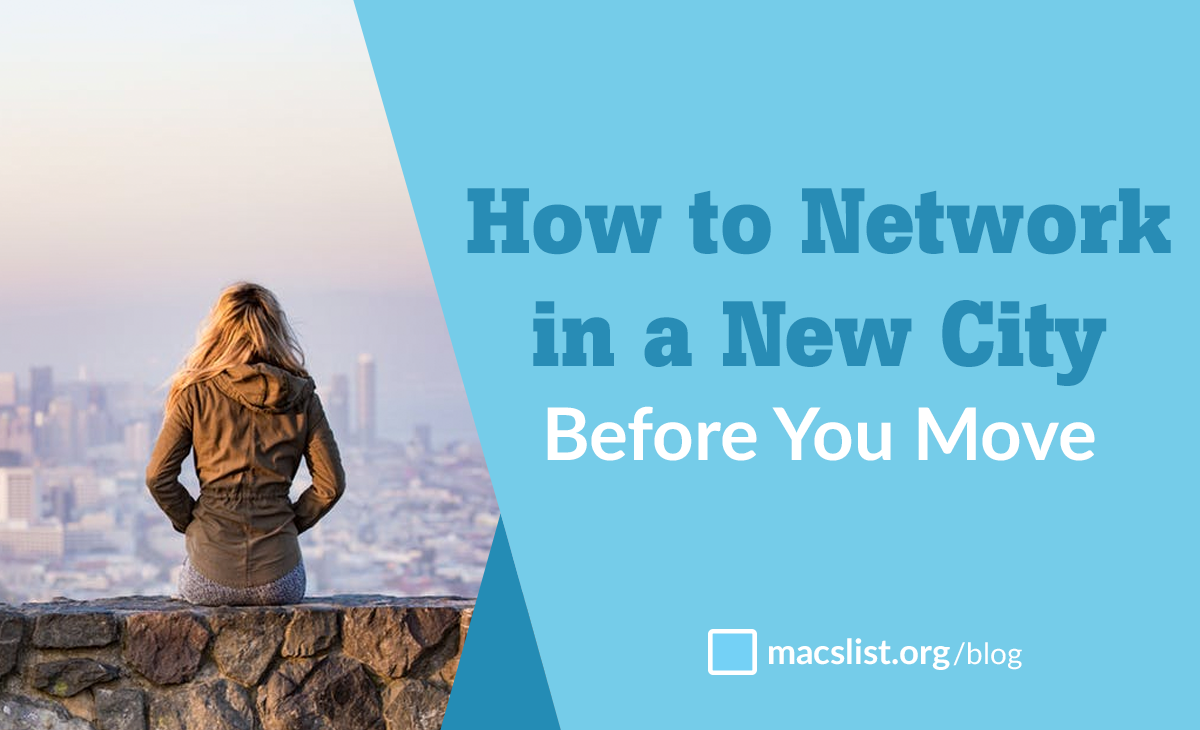 How To Network in a New City Before You Move