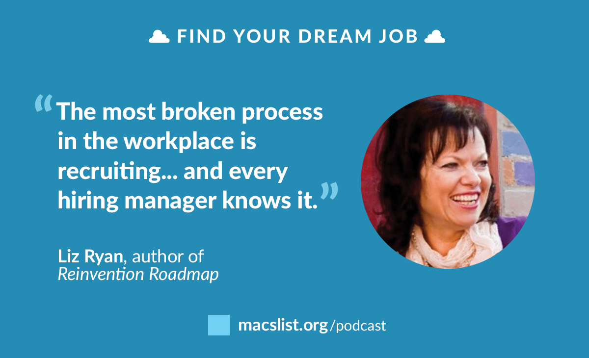 Ep 081: Break The Rules To Get The Job You Deserve, With Liz Ryan