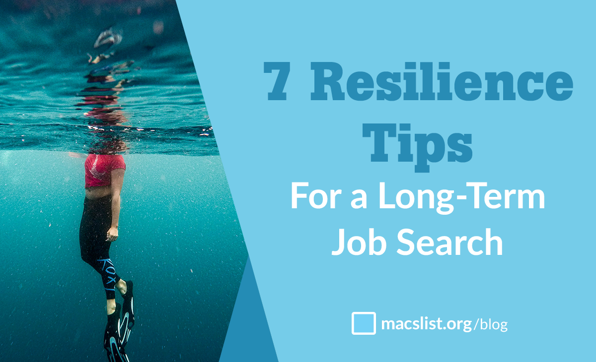 Resilience tips for a long-term job search