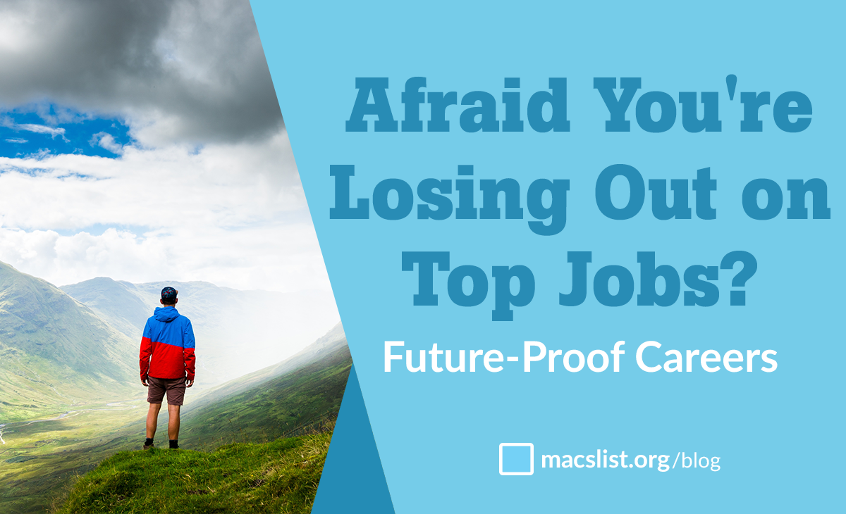 Afraid you're losing out on top jobs?