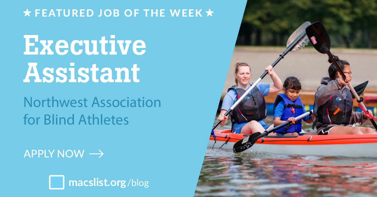 Job of the Week: Executive Assistant at Northwest Association for Blind Athletes
