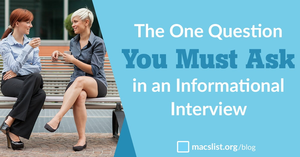 questions to ask at an informational interview