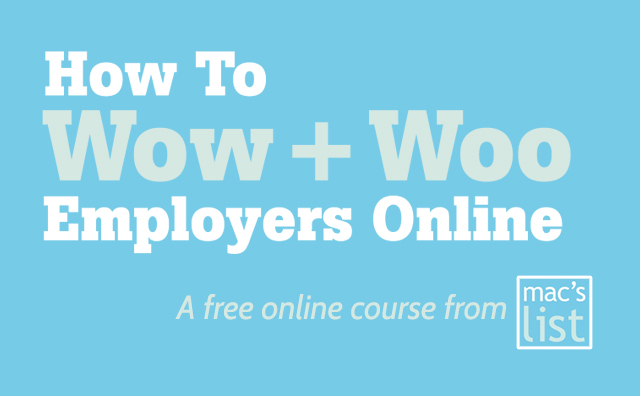 How to Wow and Woo Employers Online