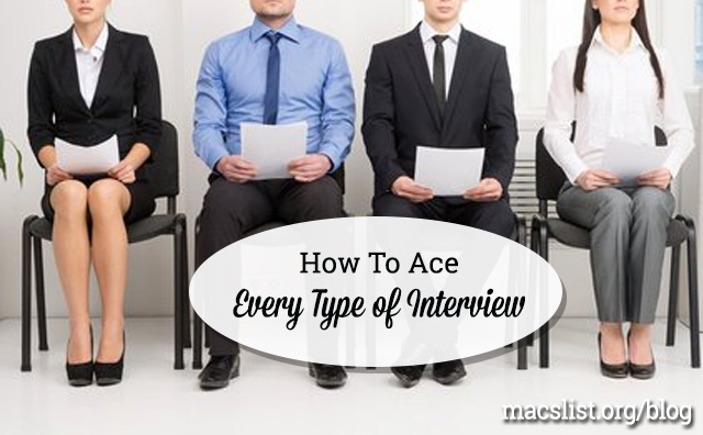 Learn how to nail all six types of job interviews