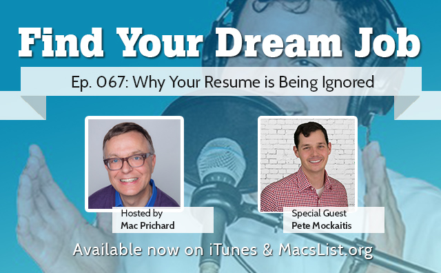 why Your Resume is Ignored