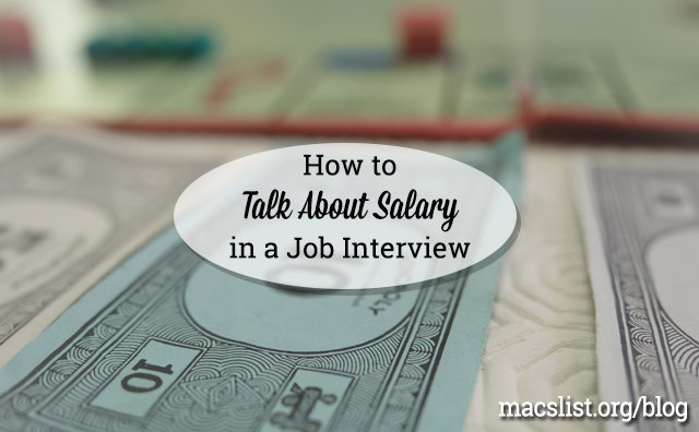 How to Talk About Salary in a Job Interview
